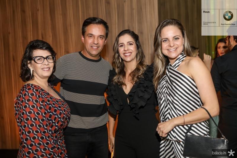 Neuma Figueiredo, Fernando Novais, Ticiana Mota e Ana Virginia Furlani
