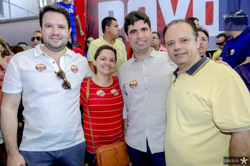 Leo Couto, Rita Bezerra, Bruno Barreira e Claudio Pinho