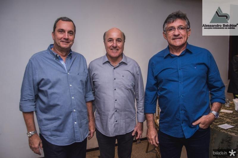 Kalil Otoch, Silvio Frota e Roberio Cidriao