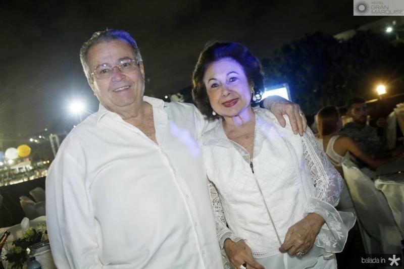 meton Cesar e Yolanda Vasconcelos
