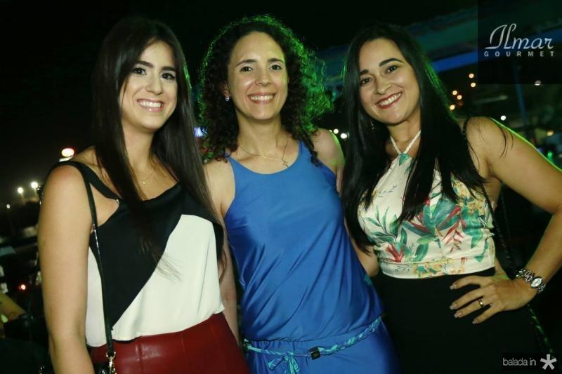 Priscila Paiva, Sofia Negreiros e Leidiane Fonseca