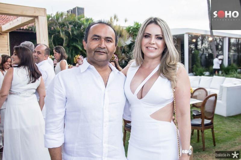 Luis Cesar e Joana Caetano