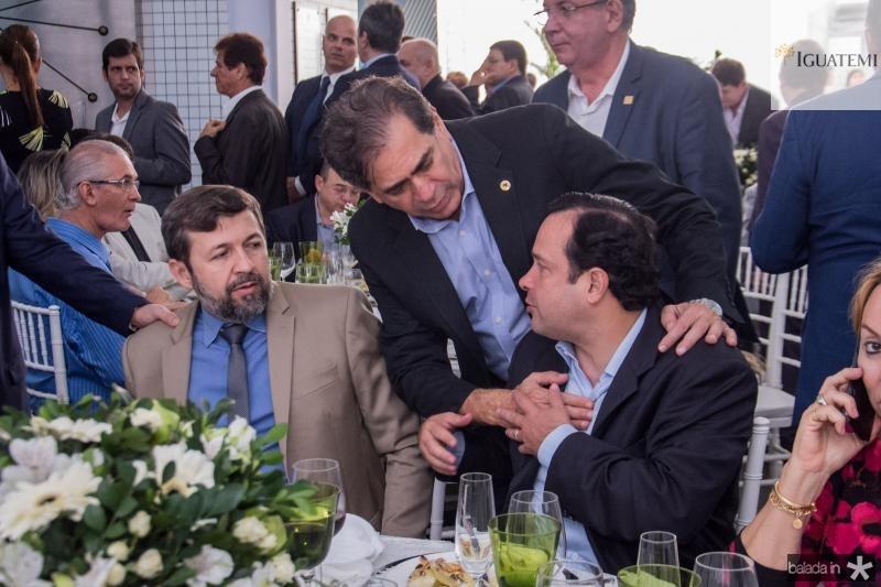 Elcio Batista, Zezinho Albuquerque e Igor Barroso