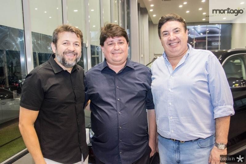 Elcio Batista, George Lima e Marcos Dias Branco