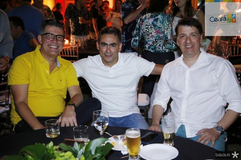 Adriano Lima, Marcos Aragao e Davi Rocha
