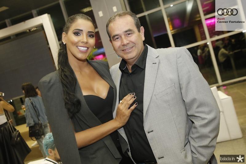 Niara Meireles e Fabio Ambrisio