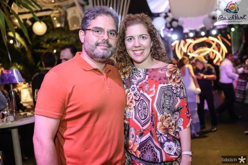 Edson Neto e Ticiana Queiroz
