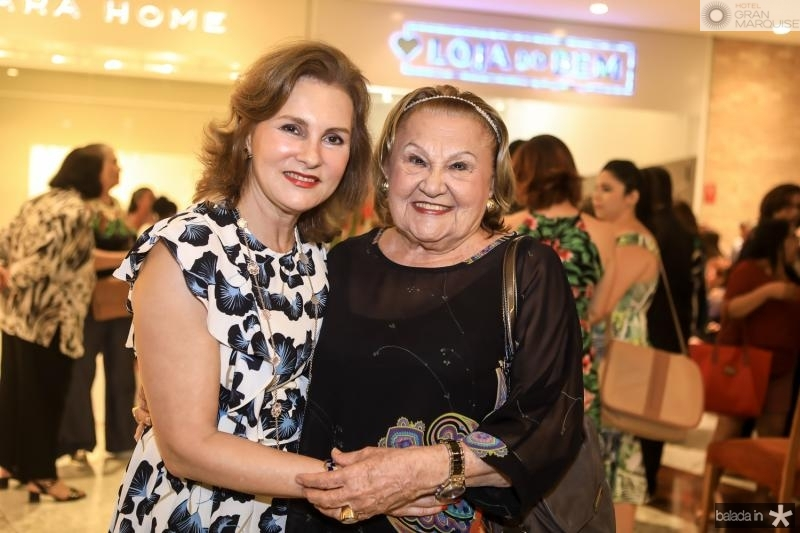 Renata Jereissati e Ivone Rebouças