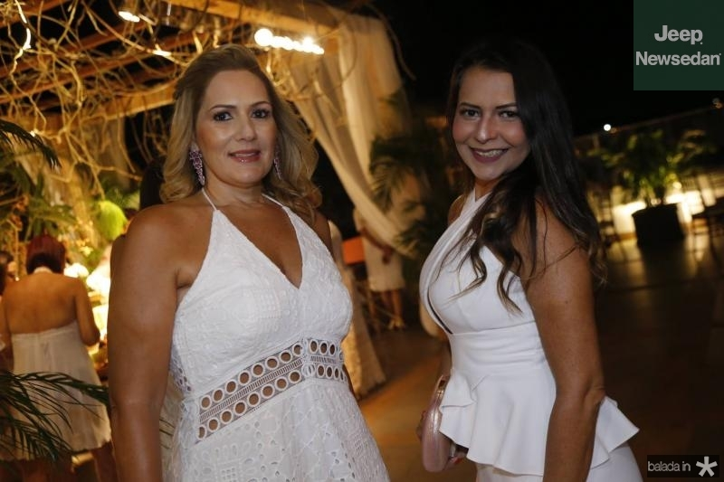 Marcia Peixoto e Patricia Oliveira
