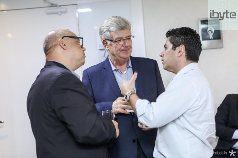Carlos Alberto Nunes, Carlos Maia e Pompeu Vasconcelos