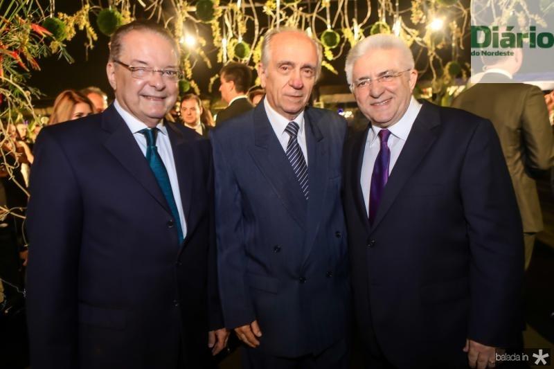 Valman Miranda, Joao Guimaraes e Deusmar Queiros