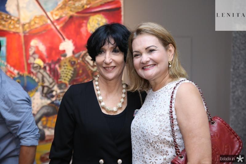 Denise Mattar e Lenise Rocha