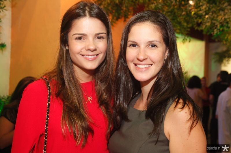 Priscilla Ximenes e Naiana Lima