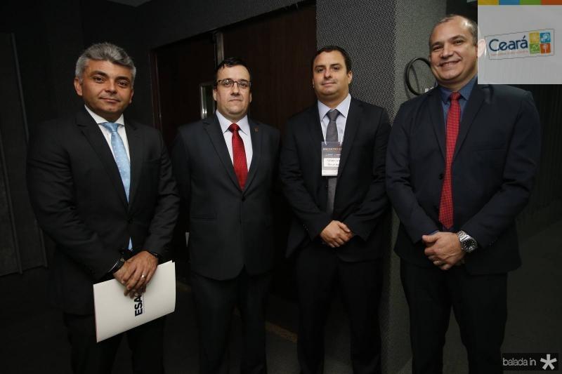 Erivbelton Goncalves, Frederico Cortes, Geraldo Holanda e Robens Nogueira