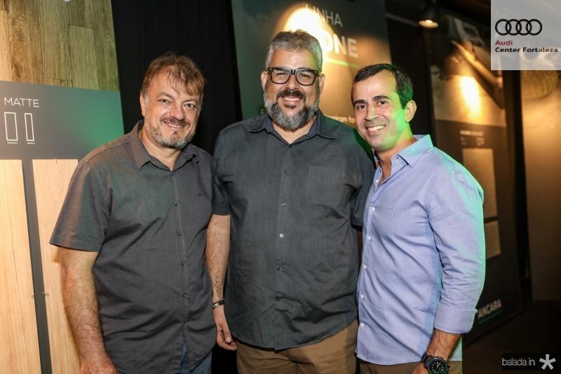 Ismael Sagim, Joao Miranda e Felipe Mota