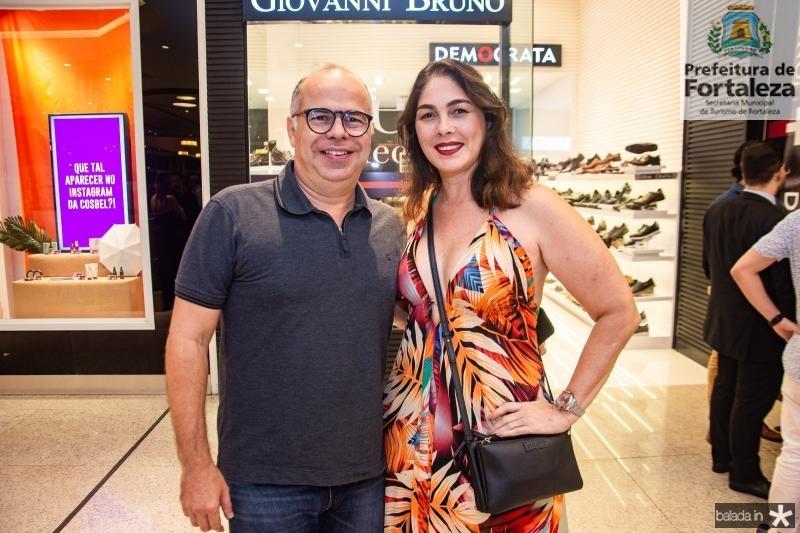 Marcio Menezes e Isabela fiuza