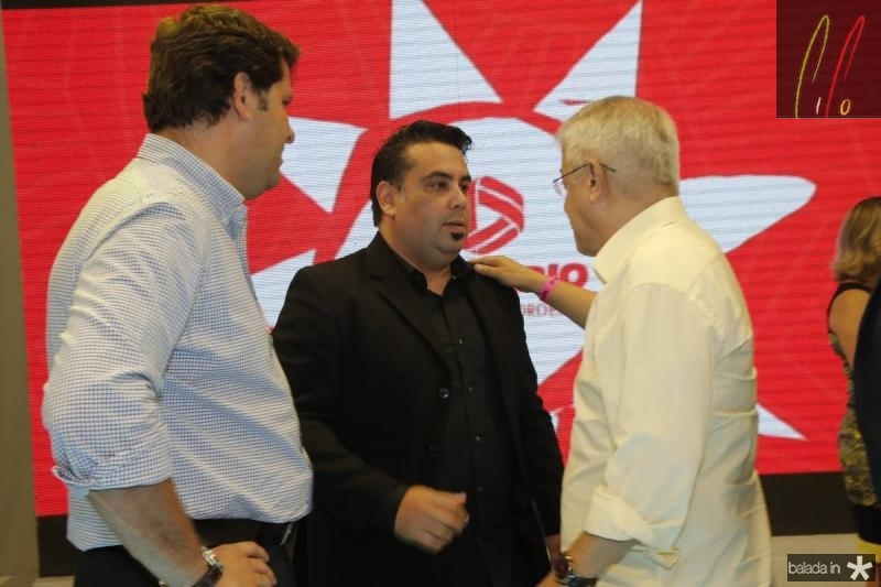 Rafael Rodrigues, Andre Melo e Paulo Cesar Noroes