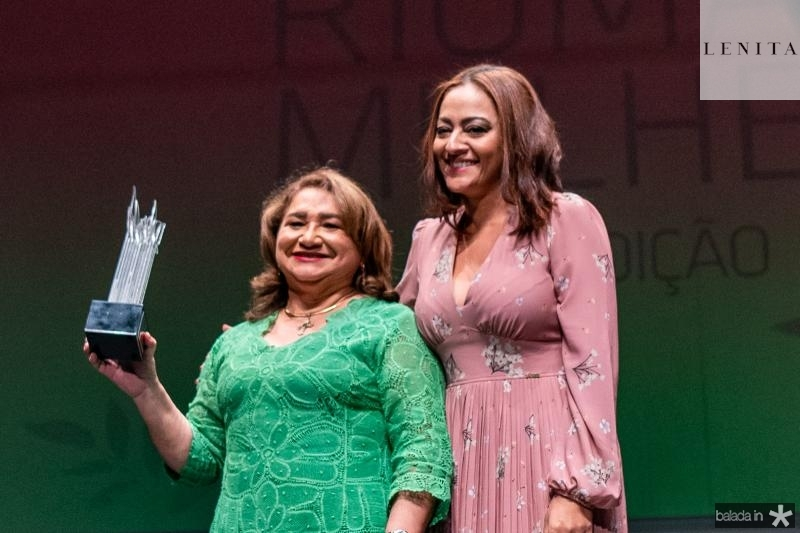 Maria Vital e Michele Ribeiro