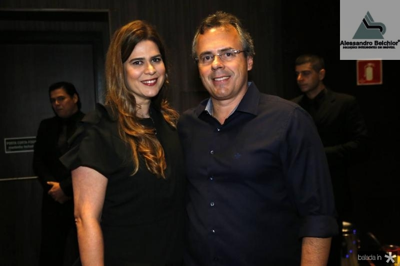 Mirela Accioly e Gerson Cecchini
