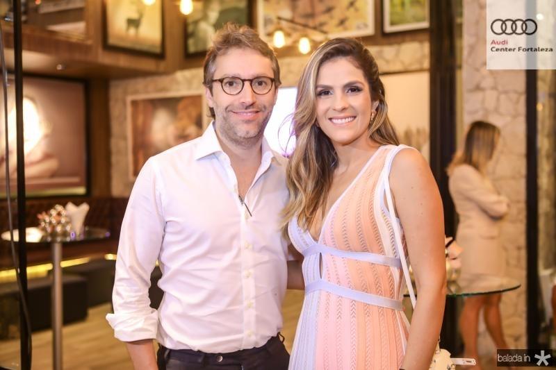 Francisco e Mariana Marinho