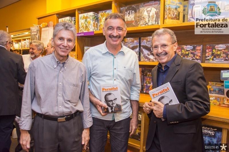 Padua Lopes, Artur Bruno e Egidio Serpa