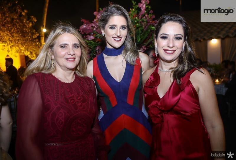 Morgana Dias Branco, Rebeca e Silvinha Leal