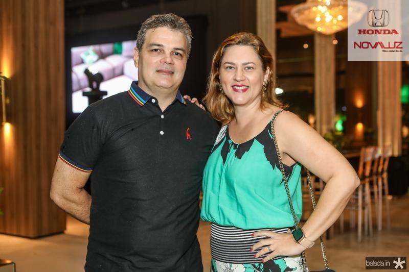 Henrique Cisne e Tatiana Melo