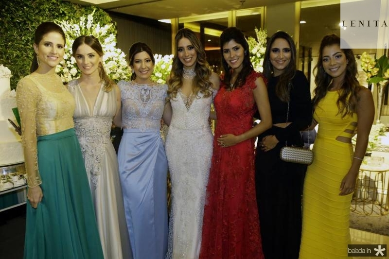 Manoela Bezerra, Laime Paz, Renata Abreu, Nathalia Ximenes, Flavia Simoes, Nathalia Holanda e Maria Eugenia Pinto