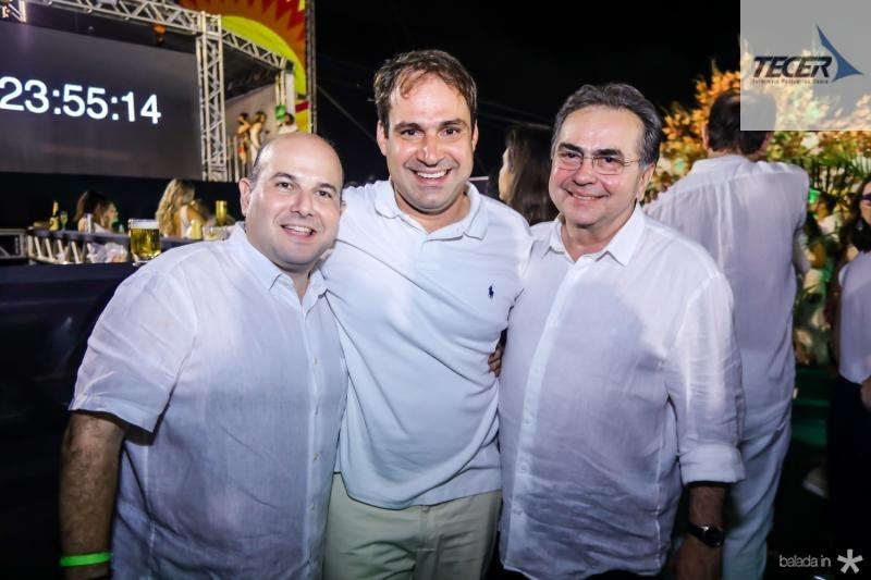 Roberto Claudio, Salmito Filho e Leonidas Cristino