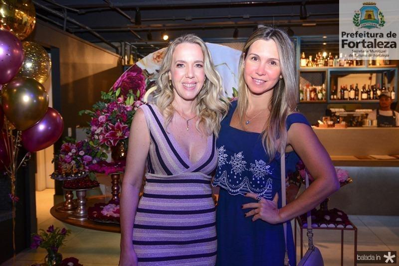 Erika Figueiredo e Paula Ferreira