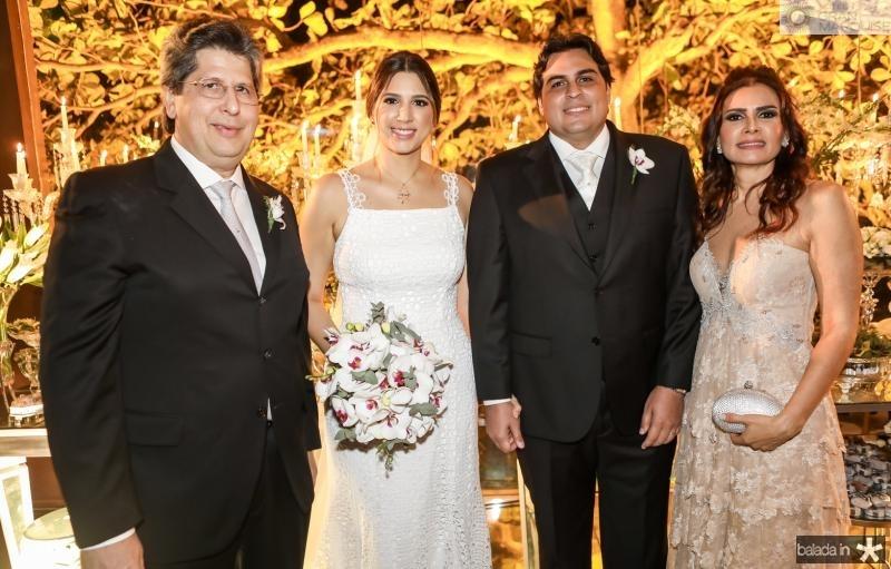 Lucio Bomfim, Lara Pouchain, Rivaldo Holanda e Lorena Pouchain