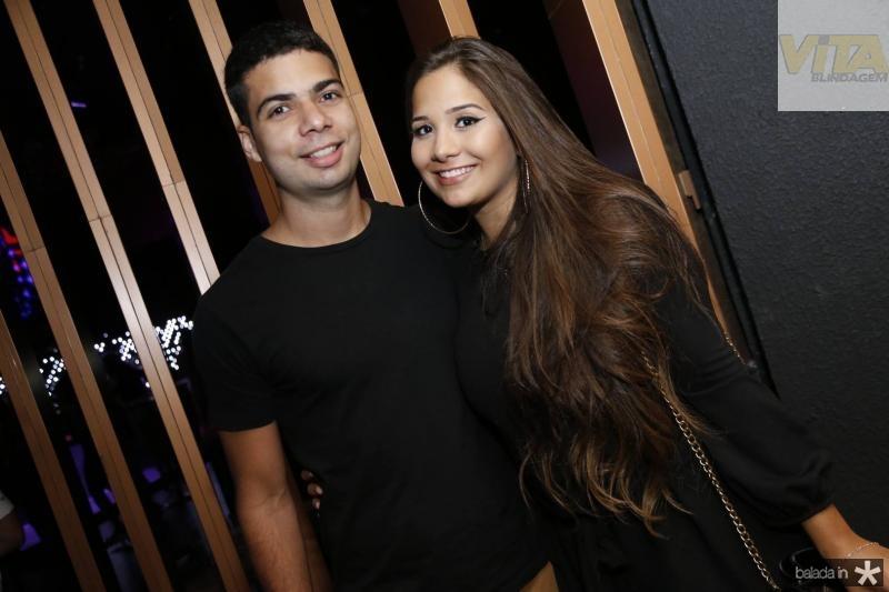 Lucas Camelo e Luana Lima