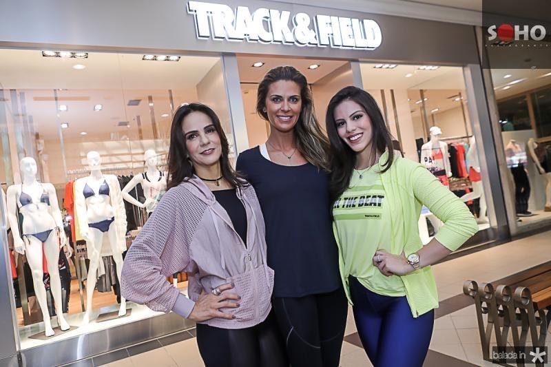 Sandra Rolim, Claudia Moura e Manuela Rolim