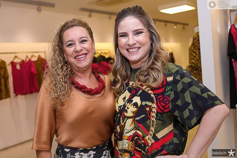 Bricia Teixeira e Maria Clara Dall'Ólio