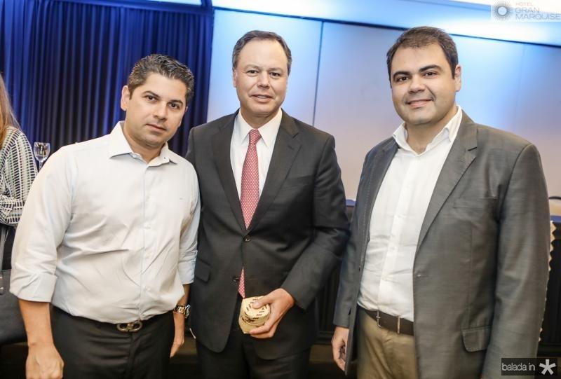 Pompeu Vasconcelos, Gregorio Gutierrez e Marcos Aurelio Cabral