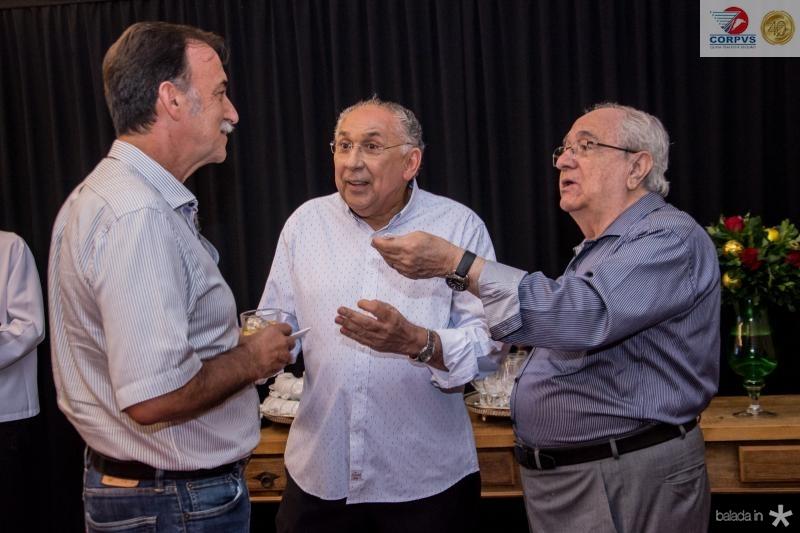 Armando Abreu, Luis Carlos Correa e Eduardo Bezerra