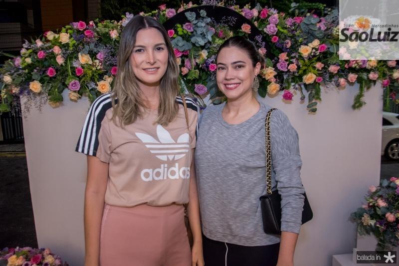 Mayara Pinho e Lina Parente