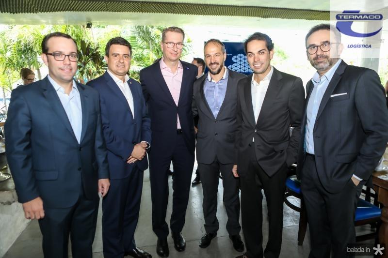 Ivo Machado, Luiz Sergio Gadelha, Ralph Schweens, Carlo Moratelli, Claudio Vale e George Pinto