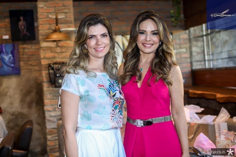 Ines Castro e Eveline Fujita