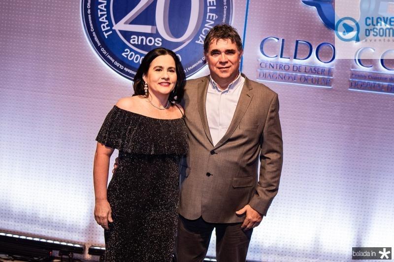 Ana Cristina Machado e Marcos Negreiros