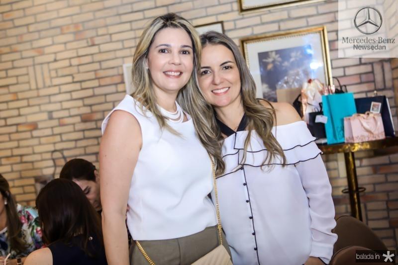 Micheline Bezerra e Raquel Vasconcelos