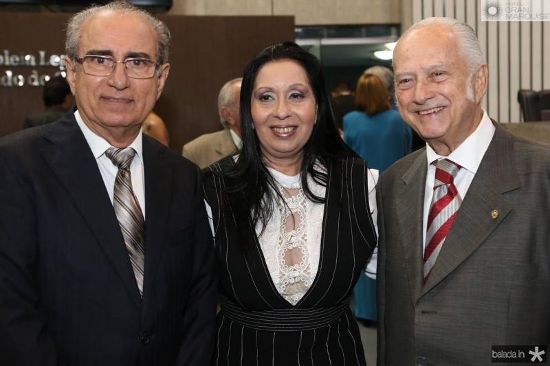 Bosco Macedo, Valeria Colares e Paulo Barbosa