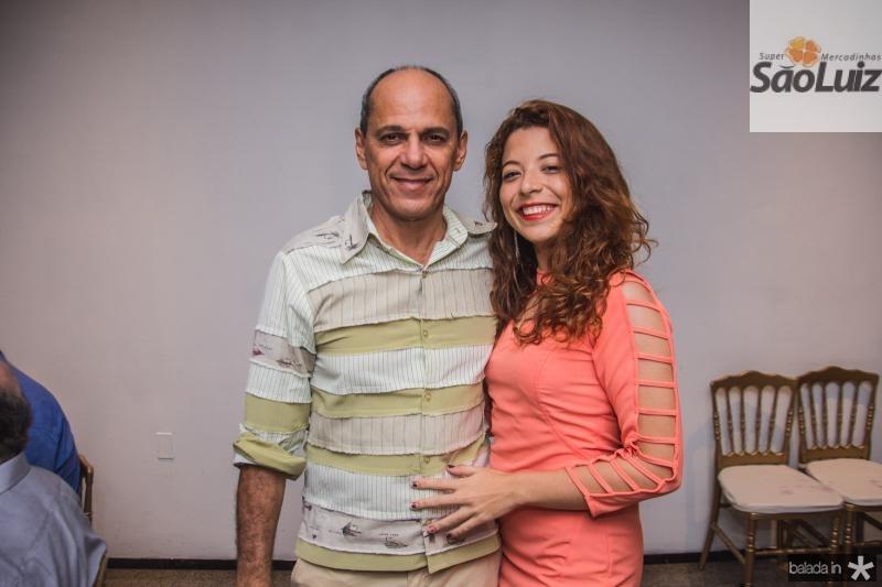 Mano Alencar e Ingrid Medeiros