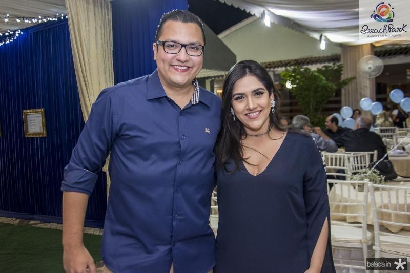 Leopoldo e Mariana Cabral