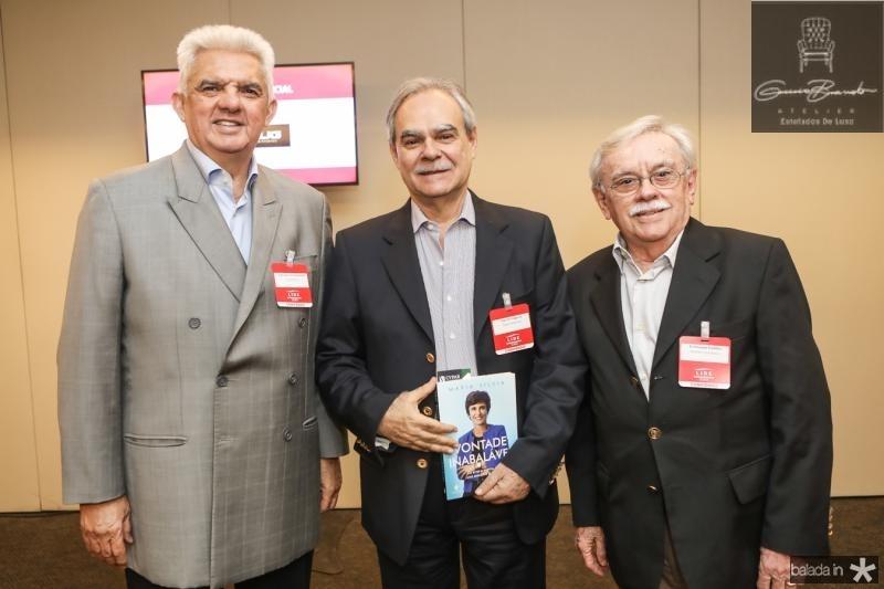 Tales Sa Cavalcante, Max Perlingeiro e Raimundo Padilha