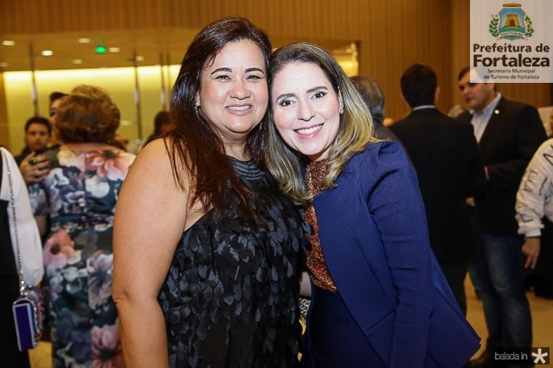 Eveline Brandao e Agueda Muniz