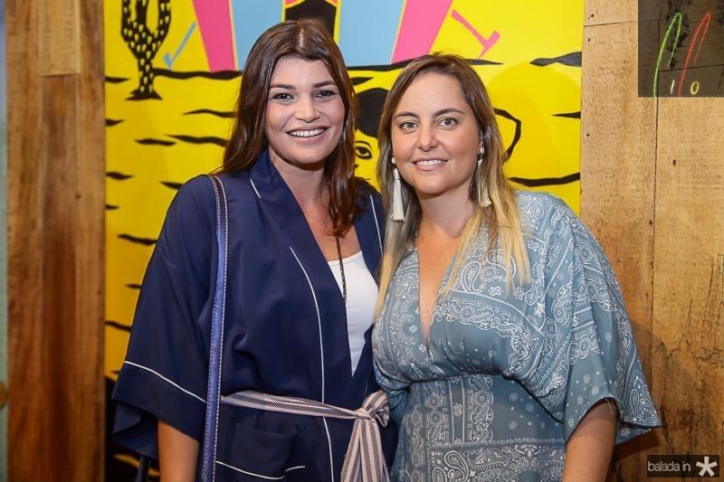 Livia Saboia e Clarice Machado