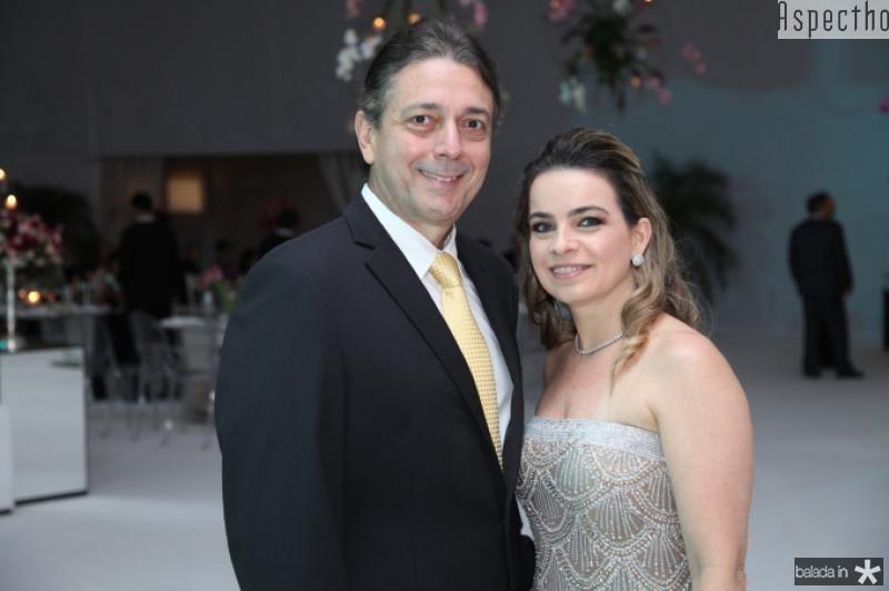 Afranio e Daniela Barreira