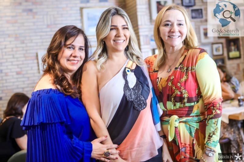 Martinha Assunçao, Jeritza Gurgel e Sandra Fujita