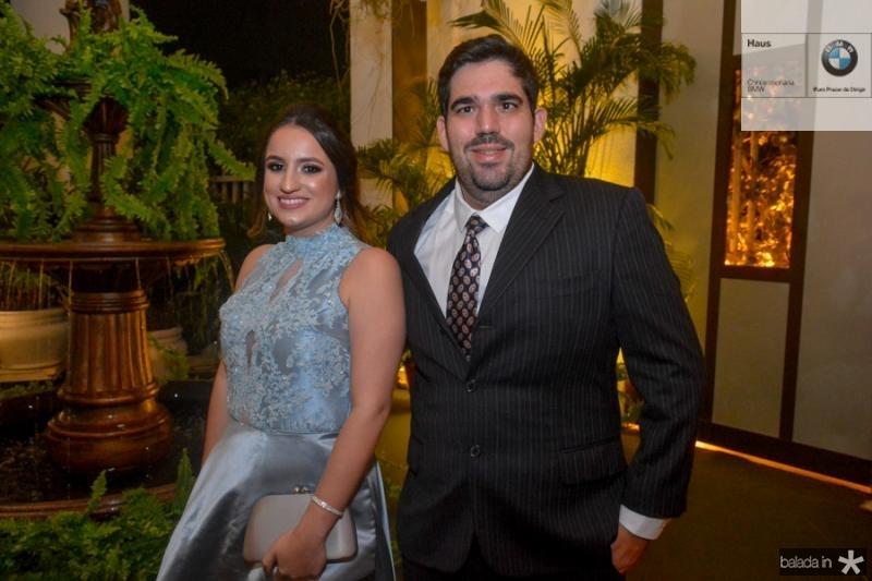 Ana Emidia Vasconcelos e Lucas Aguiar